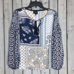 Anthro W5 peasant blouse